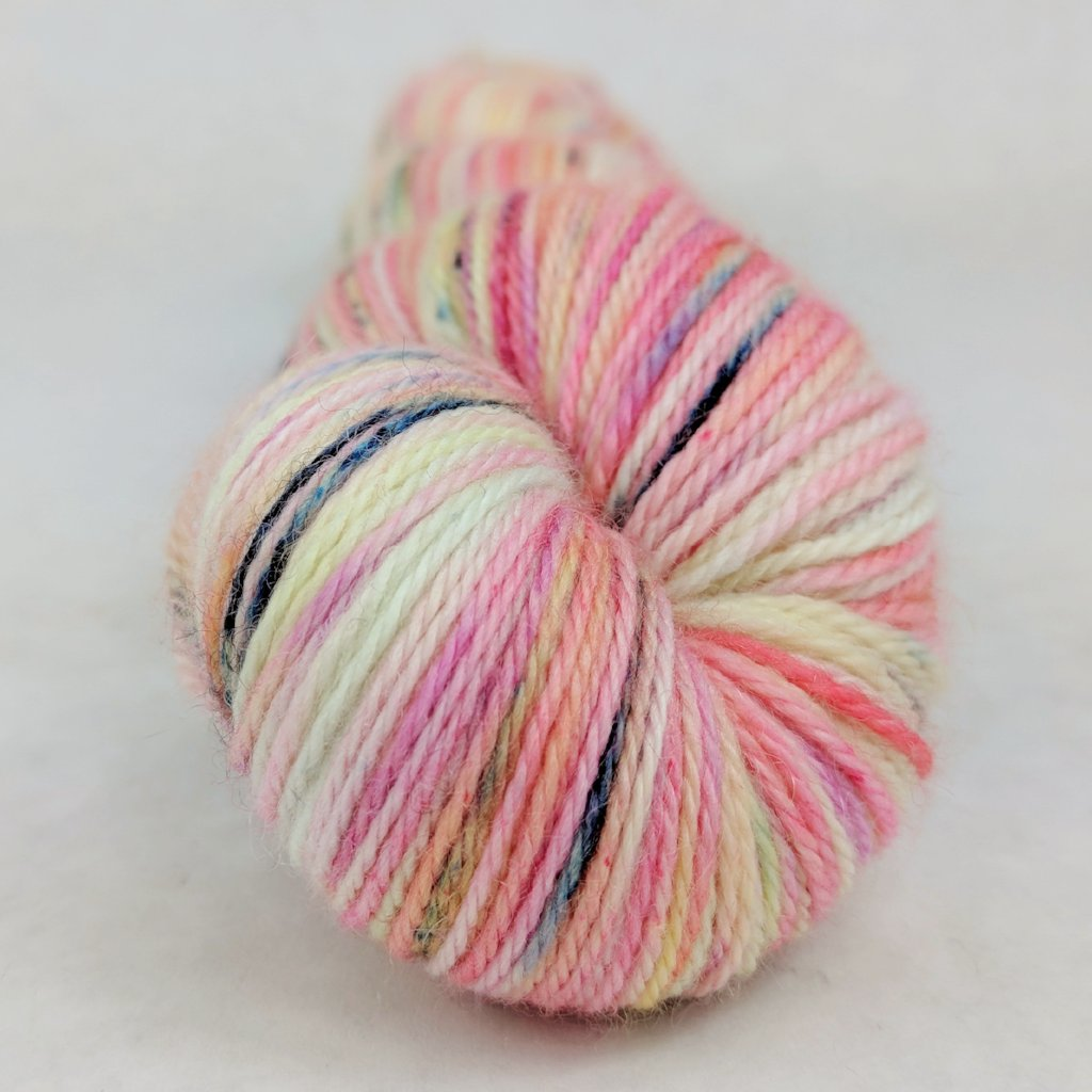 Easy Peasy Lemon Squeezy 100g Speckled Handpaint skein, Opulence, ready to ship