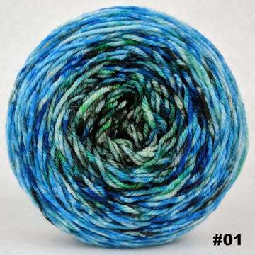 Knitcircus Yarns: The Wood Between the Worlds 100g Impressionist Gradient, Divine, choose your cake, ready to ship yarn