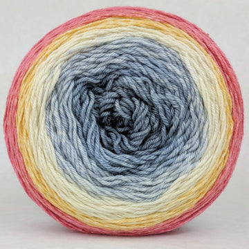 Knitcircus Yarns: Fight Like A Girl 150g Panoramic Gradient, Parasol, ready to ship yarn - SALE