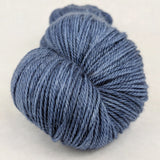 Cornflower 100g Kettle-Dyed Semi-Solid skein, Opulence, ready to ship