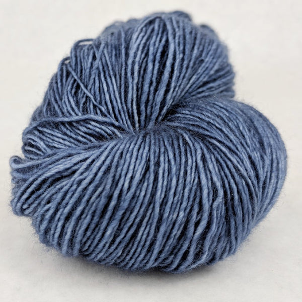Knitcircus Yarns: Cornflower 100g Kettle-Dyed Semi-Solid skein, Spectacular, ready to ship yarn