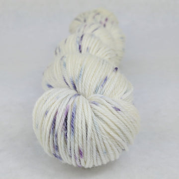 Knitcircus Yarns: Mistress of Myself 100g Speckled Handpaint skein, Divine, ready to ship yarn