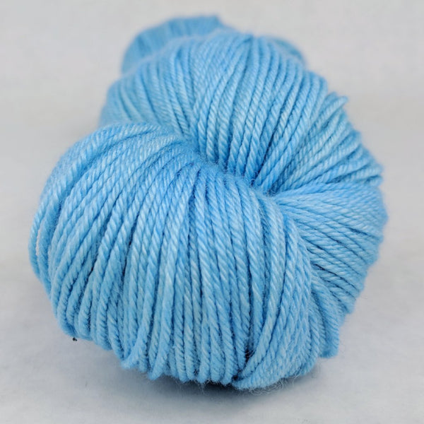 Knitcircus Yarns: Clear Skies Ahead 100g Kettle-Dyed Semi-Solid skein, Parasol, ready to ship yarn