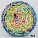 Knitcircus Yarns: Girls Run the World 100g Impressionist Gradient, Greatest of Ease, choose your cake, ready to ship yarn