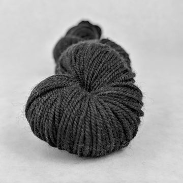 Knitcircus Yarns: Quoth the Raven 50g Kettle-Dyed Semi-Solid skein, Trampoline, ready to ship yarn