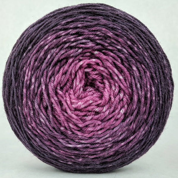 Knitcircus Yarns: La Vie en Rose 100g Chromatic Gradient, Greatest of Ease, ready to ship yarn