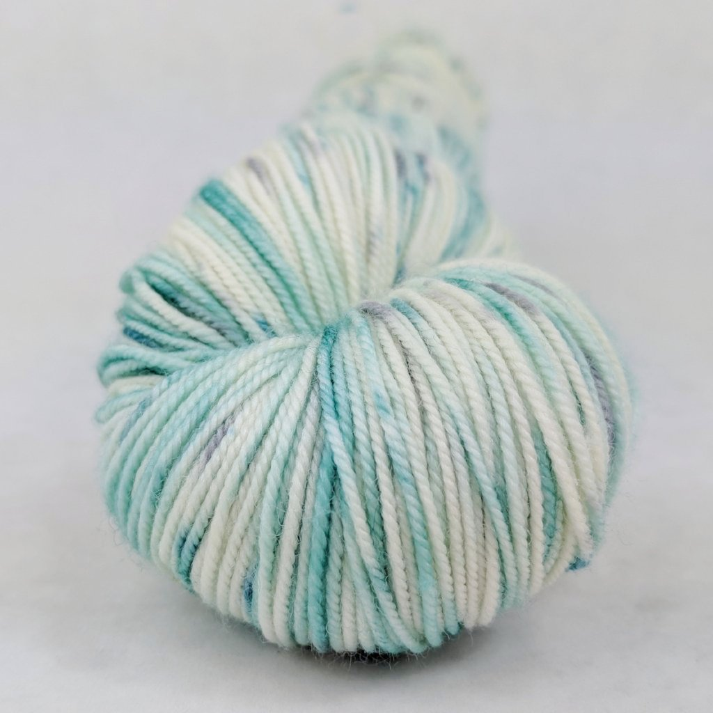 Believe in Miracles 100g Speckled Handpaint skein, Trampoline, ready to ship