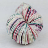 Sugar Plum Fairy 100g Speckled Handpaint skein, Spectacular, ready to ship