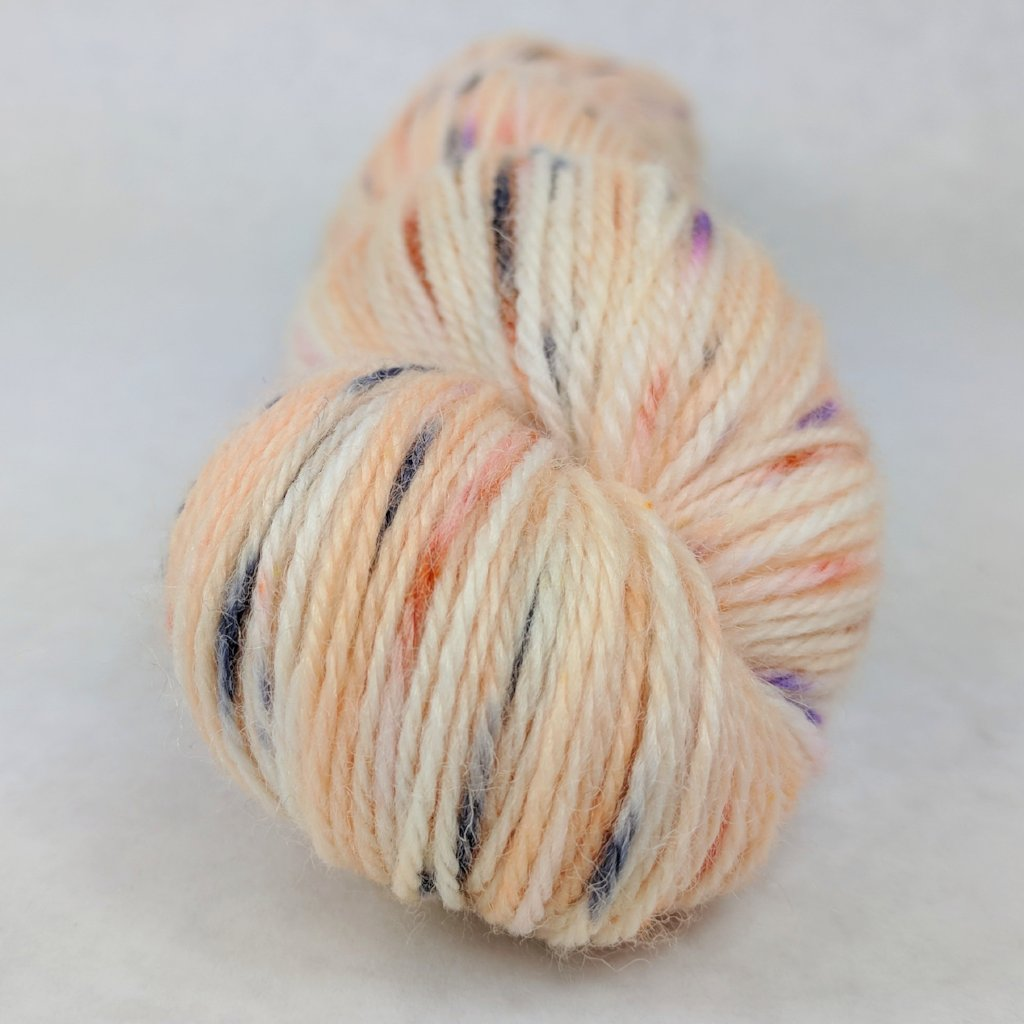 Bewitched 100g Speckled Handpaint skein, Corriedale, ready to ship