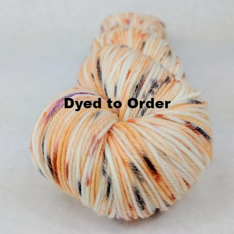 Bewitched Speckled Handpaint Skeins, dyed to order