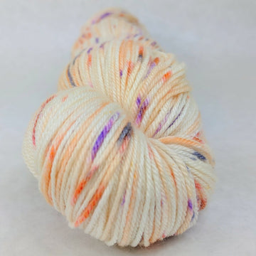 Knitcircus Yarns: Bewitched 100g Speckled Handpaint skein, Parasol, ready to ship - SALE