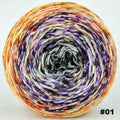 Knitcircus Yarns: Something Wicked 100g Impressionist Gradient, Greatest of Ease, choose your cake, ready to ship yarn