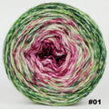 Knitcircus Yarns: Holly and Ivy 100g Impressionist Gradient, Corriedale, choose your cake, ready to ship yarn - SALE