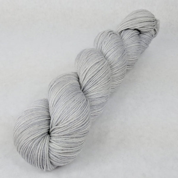 Knitcircus Yarns: Silver Lining 100g Kettle-Dyed Semi-Solid skein, Parasol, ready to ship yarn