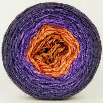 Knitcircus Yarns: Bewitched 100g Panoramic Gradient, Corriedale, ready to ship yarn - SALE