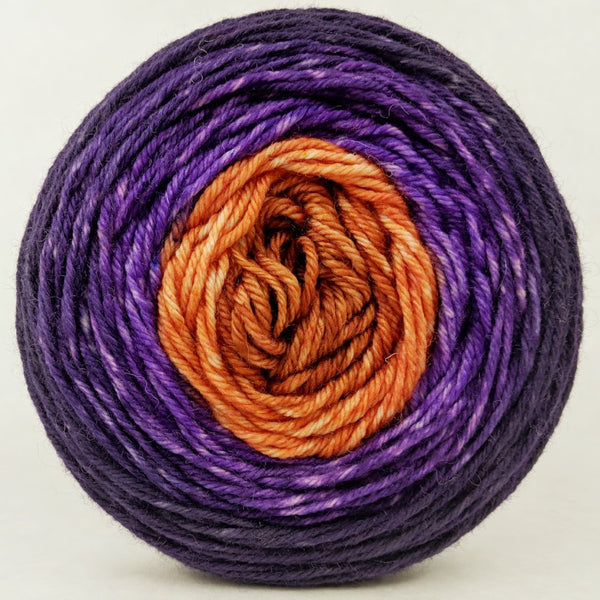 Knitcircus Yarns: Bewitched 100g Panoramic Gradient, Divine, ready to ship yarn