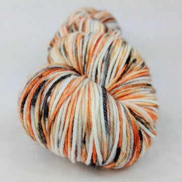 Knitcircus Yarns: Trick or Treat 100g Speckled Handpaint skein, Greatest of Ease, ready to ship yarn