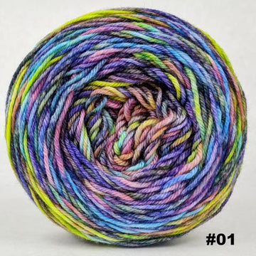 Knitcircus Yarns: Horse of a Different Color 100g Abstract, Divine, choose your cake, ready to ship yarn