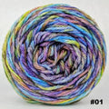 Knitcircus Yarns: Horse of a Different Color 100g Abstract, Ringmaster, choose your cake, ready to ship yarn