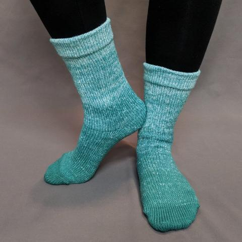 Garden Gnome Chromatic Gradient Matching Socks Set (medium), Trampoline, ready to ship