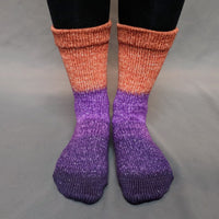 Knitcircus Yarns: Bewitched Panoramic Gradient Matching Socks Set, dyed to order yarn