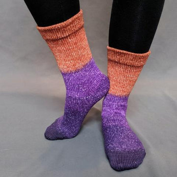 Knitcircus Yarns: Bewitched Panoramic Gradient Matching Socks Set (large), Greatest of Ease, ready to ship yarn