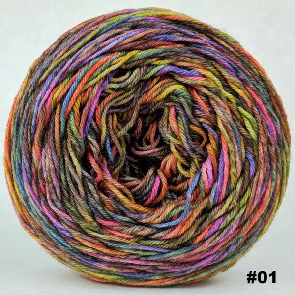 Knitcircus Yarns: Big Top Birthday 100g Abstract, Greatest of Ease, choose your cake, ready to ship yarn