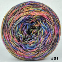 Knitcircus Yarns: Big Top Birthday 100g Abstract, Opulence, choose your cake, ready to ship yarn