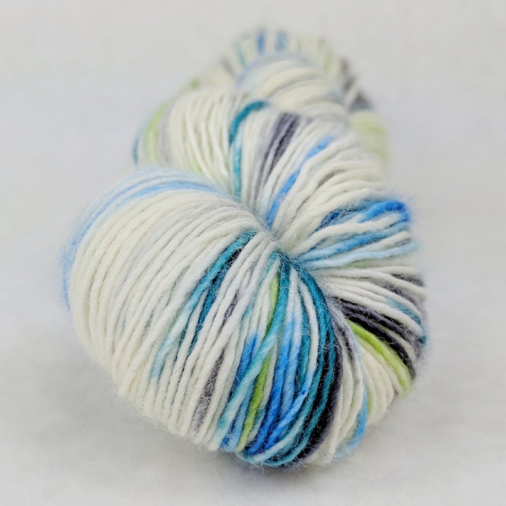 Growing Like a Weed 100g Speckled Handpaint skein, Spectacular, ready to ship