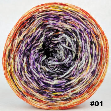 Knitcircus Yarns: Something Wicked 150g Impressionist Gradient, Greatest of Ease, choose your cake, ready to ship yarn