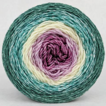 Knitcircus Yarns: Jingle Bells 100g Panoramic Gradient, Greatest of Ease, ready to ship yarn