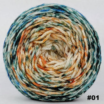 Knitcircus Yarns: Country Roads 150g Impressionist Gradient, Ringmaster, choose your cake, ready to ship yarn