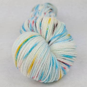 Knitcircus Yarns: Into the Mystic 100g Speckled Handpaint skein, Opulence, ready to ship yarn - SALE