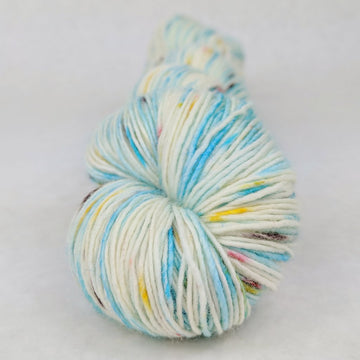 Knitcircus Yarns: Into the Mystic 100g Speckled Handpaint skein, Spectacular, ready to ship yarn - SALE