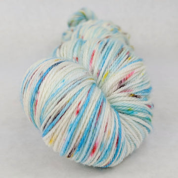 Knitcircus Yarns: Into the Mystic 150g Speckled Handpaint skein, Opulence, ready to ship yarn - SALE