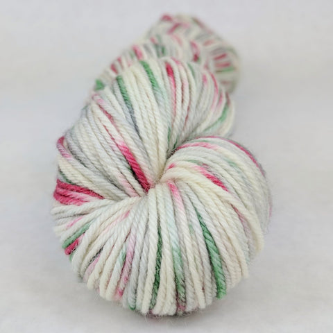 'Tis the Season 100g Speckled Handpaint skein, Divine, ready to ship