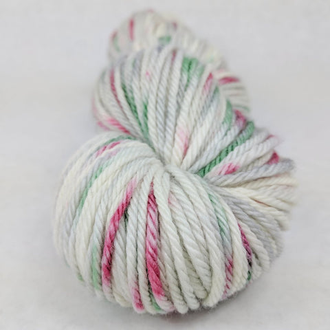 'Tis the Season 100g Speckled Handpaint skein, Ringmaster, ready to ship