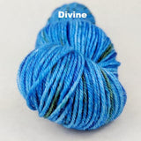 Great Blue Yonder Speckled Handpaint Skeins, dyed to order