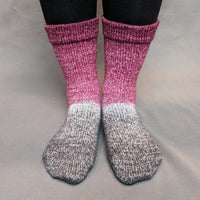 Knitcircus Yarns: What Happens At Knit Night... Panoramic Gradient Matching Socks Set, dyed to order yarn