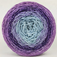 Knitcircus Yarns: Mistress of Myself 150g Panoramic Gradient, Greatest of Ease, ready to ship yarn