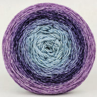 Knitcircus Yarns: Mistress of Myself 150g Panoramic Gradient, Trampoline, ready to ship yarn