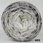 Knitcircus Yarns: Cookies and Cream 100g Impressionist Gradient, Opulence, choose your cake, ready to ship yarn