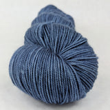 Cornflower 100g Kettle-Dyed Semi-Solid skein, Trampoline, ready to ship