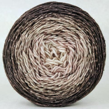 Knitcircus Yarns: Freshly Brewed 100g Chromatic Gradient, Greatest of Ease, ready to ship yarn