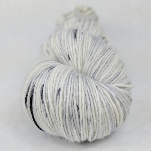 Knitcircus Yarns: Night Circus 100g Speckled Handpaint skein, Spectacular, ready to ship yarn