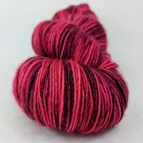 Ruby Slippers 100g Kettle-Dyed Semi-Solid skein, Spectacular, ready to ship
