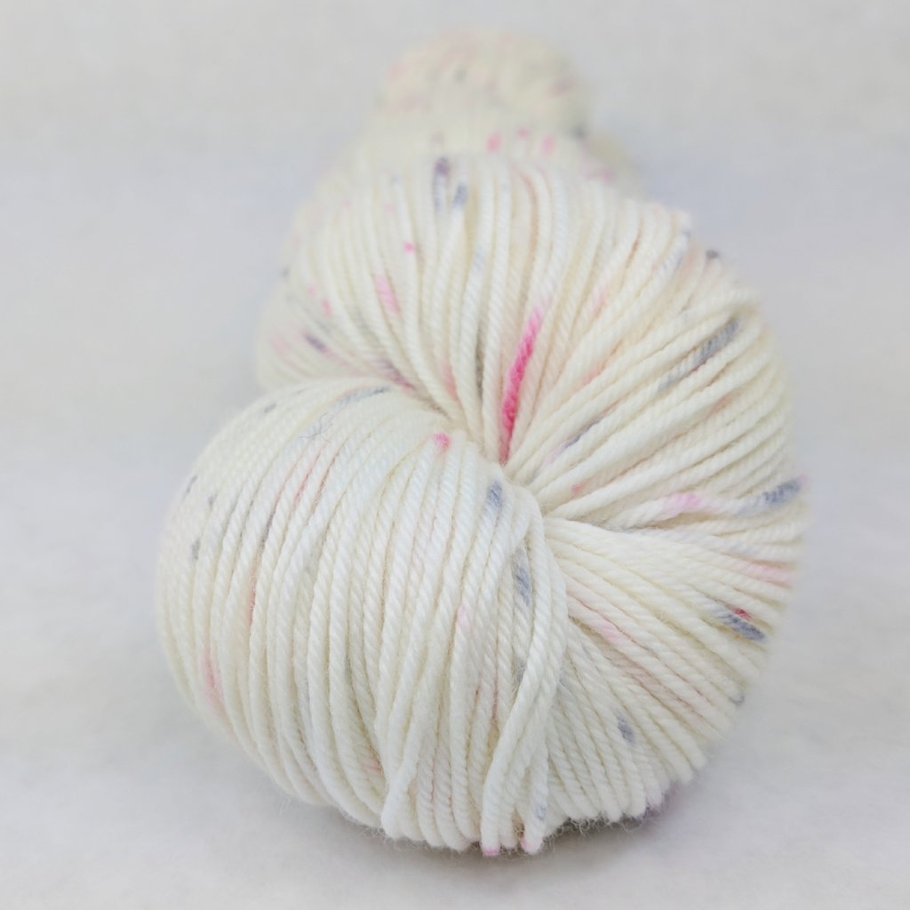 Come What May 100g Speckled Handpaint skein, Greatest of Ease, ready to ship