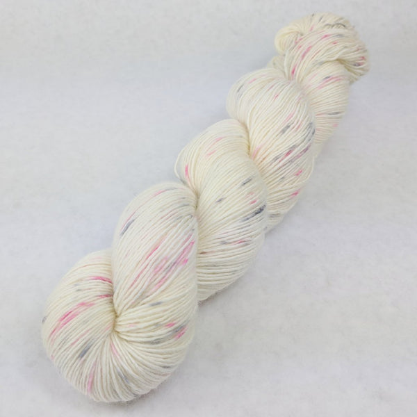 Knitcircus Yarns: Come What May 100g Speckled Handpaint skein, Spectacular, ready to ship yarn
