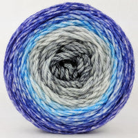 Knitcircus Yarns: Kindness is Everything 150g Panoramic Gradient, Ringmaster, ready to ship yarn