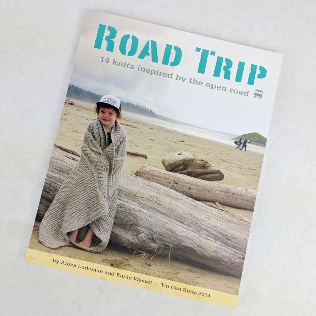 Book - Road Trip, by Tin Can Knits, ready to ship
